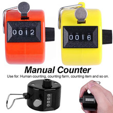 Minigolf Manual de mano, contador de señal de 4 dígitos, para granja, Golf