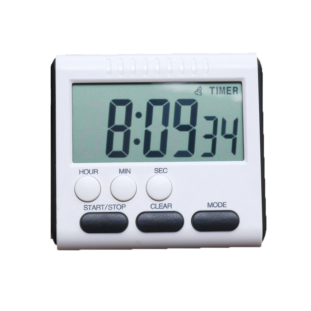 universal Digital Timer Count Down Up Clock Loud Electronic Magnetic ...