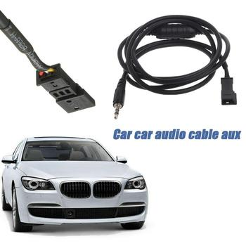 Aux Adapter 3.5mm AUX Interface Car MP3 Player Radio Cable For BMW BM54 E39 E46 E38 E53 X5 Car Usb image