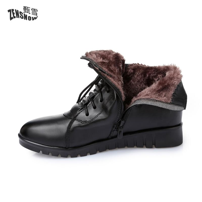 2017 New Autumn And Winter Cotton Padded Shoes Boots Soft Non Slip Bottom Flat Short 2017 new autumn