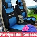 Пользовательские автокресло охватывает на 2015 hyundai genesis coupe седан сиденья наборы внутренние аксессуары сэндвич автомобиля чехлы для автомобиля мест