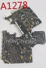 """A1278 820 2936 a 820 2936 B 820 2936 z uszkodzoną tablica logiczna SMC/BIOS do naprawy 13 """"A1278 przedstawiono szablon smc"""