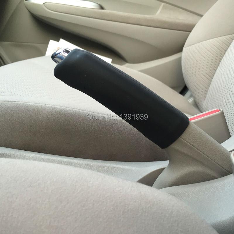 Silicone Handbrake Cover Car Accessories For Audi A4 A6 A1 A3 A5 A8 A7 S1 S3 S4 S6 S7 S8 S5 Q3 Q5 Q7 TT R8