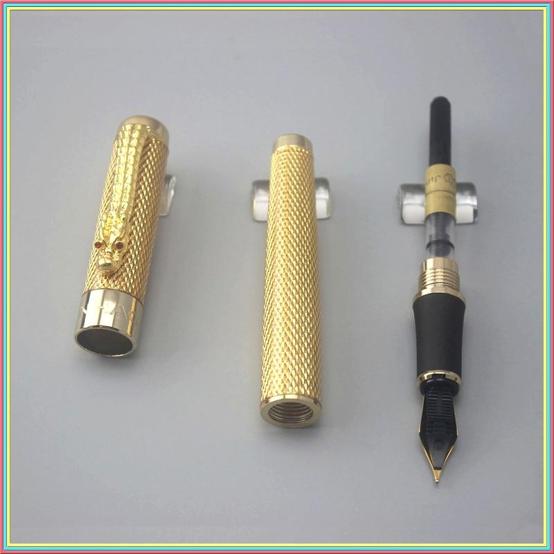Jinhao Luxury Iraurita Fountain Pen Full metal Golden Dragon Clip school Office supplies High Quality Stationery canetas 03854 шапка under armour under armour un001cmoiy50