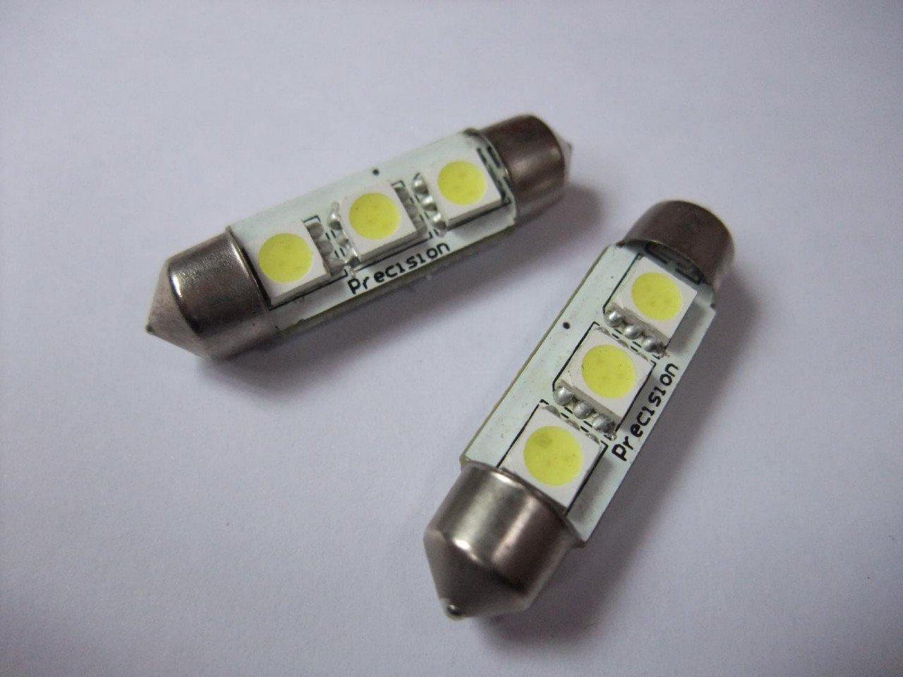 Auto Light Bulbs >> Wholesale Free Shipping EMS 100pcs/lot 39mm LED 3SMD 5050 ...