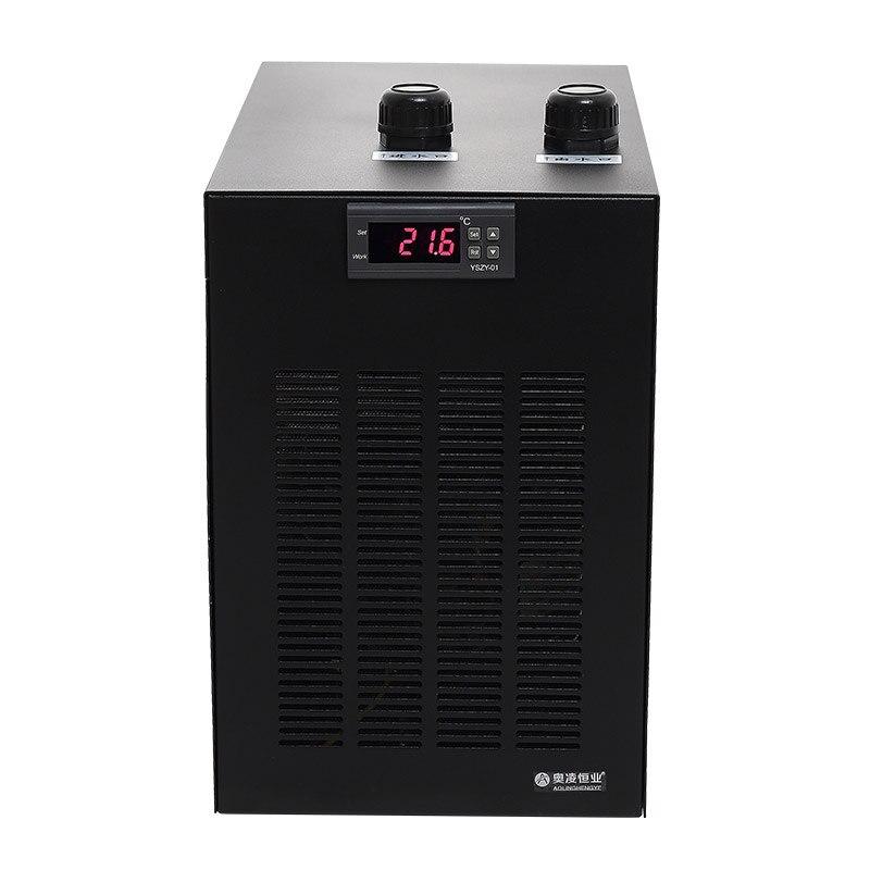 1/10HP refroidisseur eau refroidissement machine adapté moins de 160L aquarium pour récif corail méduse crevettes eau usines
