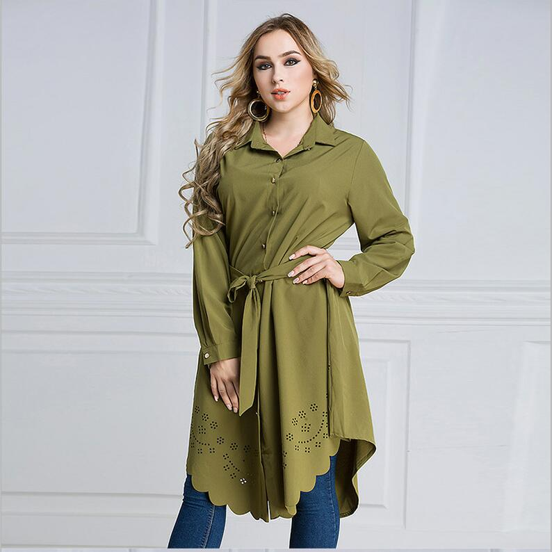 Arabic Women Dress Loose Belted Robe Femme Islamic Clothing Cardigan Malaysia Turkish Pakistani Fashion  Plus Size Muslim Dress (11)