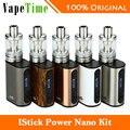 Eelectronic cigarrillos eleaf istick 40 w energía nano kit con 1100 mah de potencia Melo 3 Nano Nano Batería Mod y 2 ml Atomizador vs nano mod