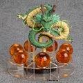 Anime Dragon Ball Z Shenron 1 dragón + 7 bolas de cristal PVC Figura de Acción de Colección Modelo de Juguete DBFG240