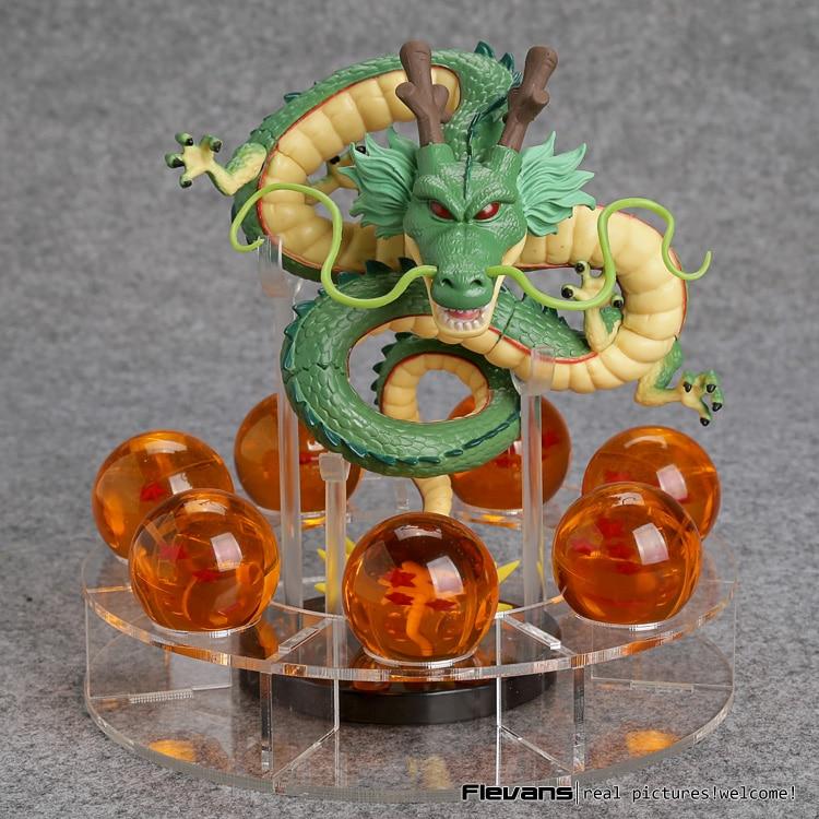 Anime Dragon Ball Z Shenron 1 dragon +7 crystal balls PVC Action Figure Collectible Model Toy DBFG240 neca marvel legends venom pvc action figure collectible model toy 7 18cm kt3137