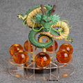 Anime Dragon Ball Z Shenron dragão 1 + 7 bolas de cristal PVC Action Figure Collectible Modelo Toy DBFG240