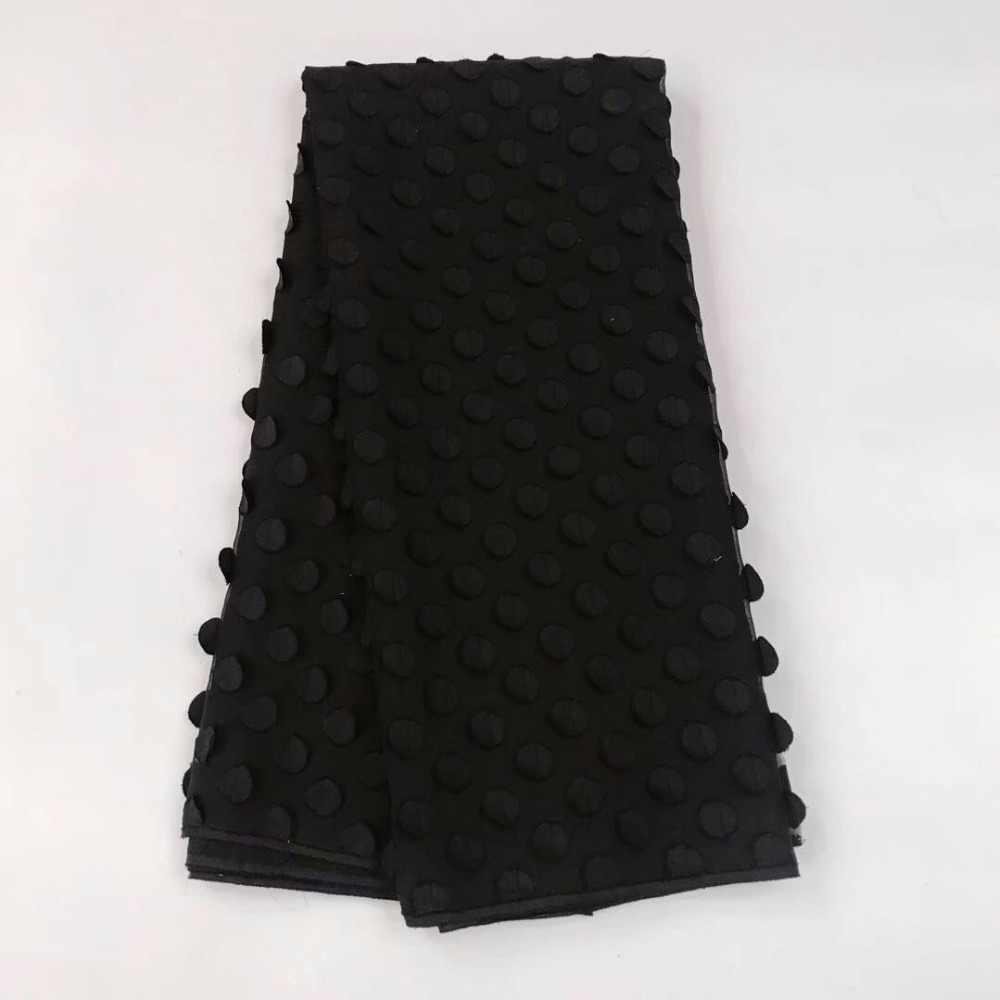 Черные нигерийские кружевные ткани 2018 африканская швейцарская вуаль кружева высокого качества швейцарская вуаль кружева в швейцарском стиле для свадебного платья
