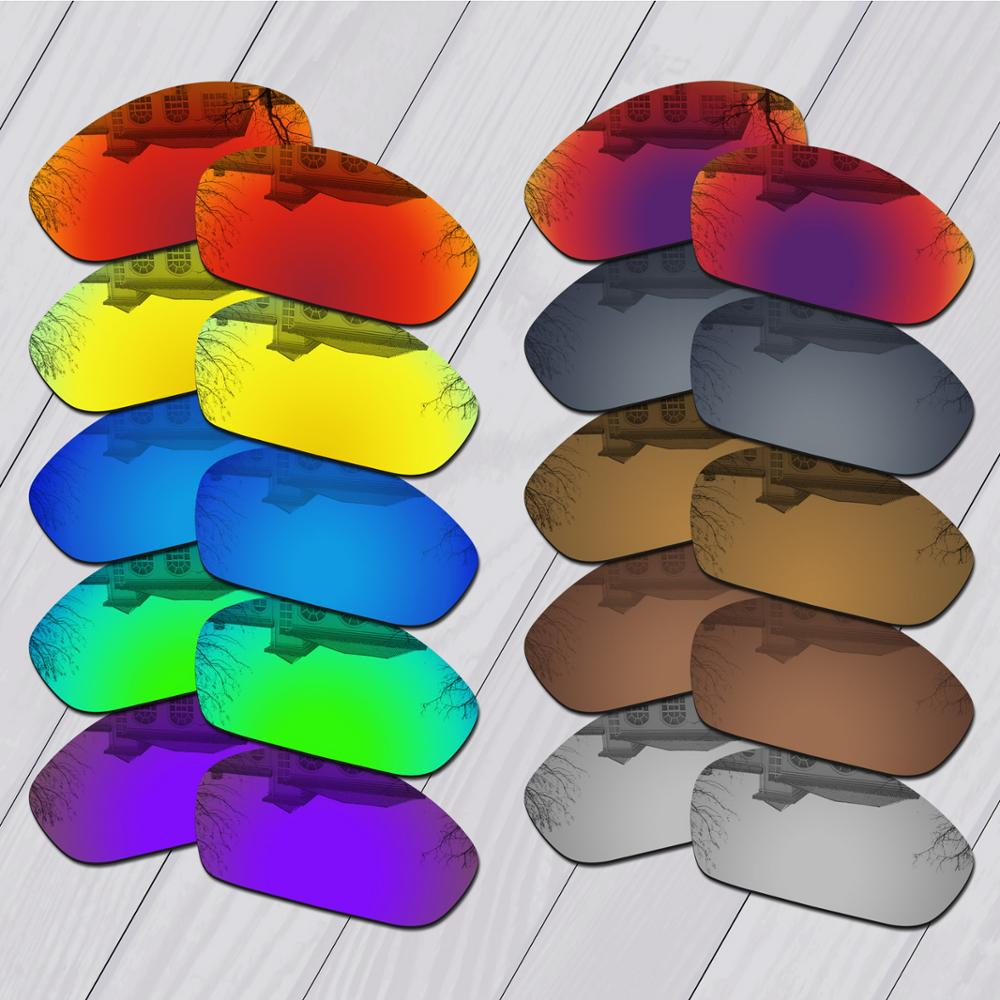 E.O.S Polarized Enhanced Replacement Lenses for Oakley Straight Jacket 2007 Sunglasses - Multiple Choice