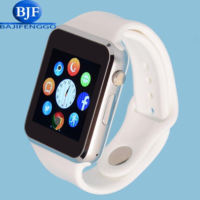 imágenes para A1 smart watch reloj de pulsera electrónica para xiaomi huawei teléfono android smartphone correa de silicona salud dz09 usable dispositivos