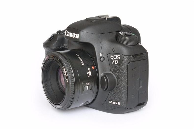 YONGNUO YN50mm F1.8 Standard Prime Lens Large Aperture Auto Focus Lens for Canon EF Mount Rebel 650D 700D 7D DSLR Camera Lens 7