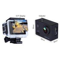 2PCS 2.0 inch HD SJ4000 1080P 12MP Sports Car DV Video Action Camera