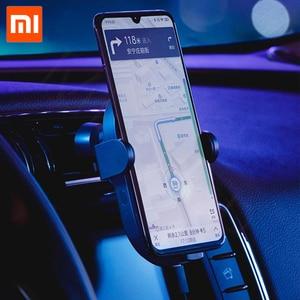 Image 3 - En Stock Xiaomi chargeur de voiture sans fil 20W Max électrique Auto pincement 2.5D anneau de verre Lit pour Mi9 20W chargeur rapide intelligent