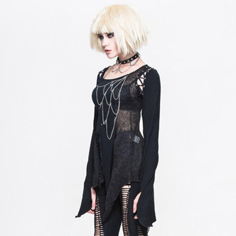 Steampunk Կանացի շապիկներ Gothic Asymmetric Flare - Կանացի հագուստ - Լուսանկար 3
