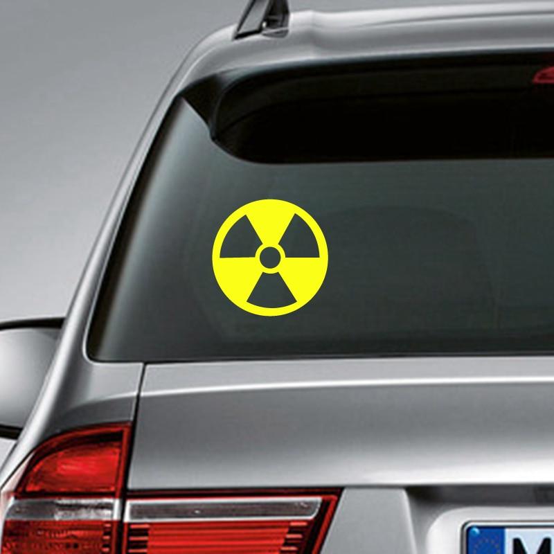 Radioactive Decal Etsy