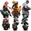 6pcs/set Naruto Action Figures Dolls Chess New PVC Anime Naruto Sasuke Gaara Model Figurines for Decoration Collection Gift Toys