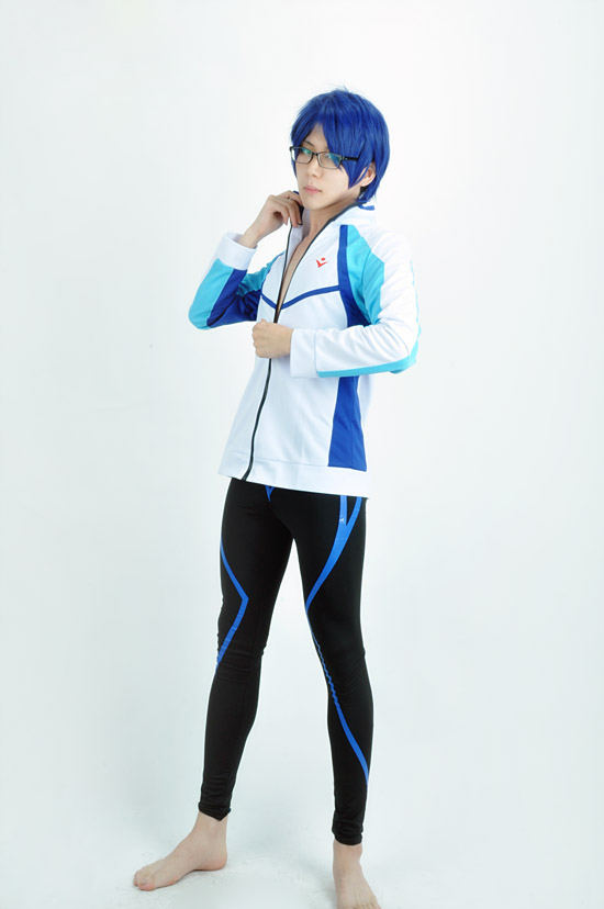 Новое поступление бесплатно Плавание Club Ryugazaki Рей куртка с Плавание ming Мужские Шорты для купания Косплэй костюм