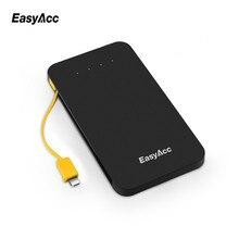 Easyacc 5000 мАч банки питания литий-полимерный micro-usb портативный мобильный телефон зарядное устройство powerbank для iphone 7 6 6s xiaomi mi5 redmi3