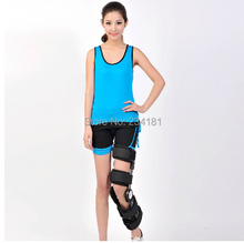 Adjustable knee support joint brace apparatus kneepad fixed frame postoperative hard knee Ligament fixation recovery