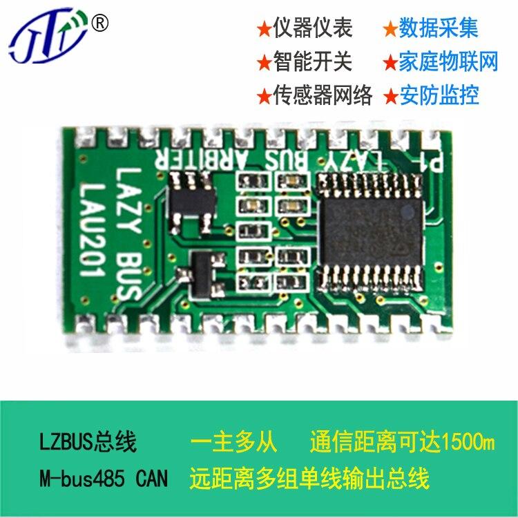 LZBUS проводной датчик сетевой автобус M-Bus 485 может измерить чтение модуль связи