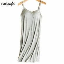 Kobiece koszule nocne bielizna nocna bielizna nocna kobiety letnia sukienka bez rękawów model bawełniana koszula damska noc vetement femme