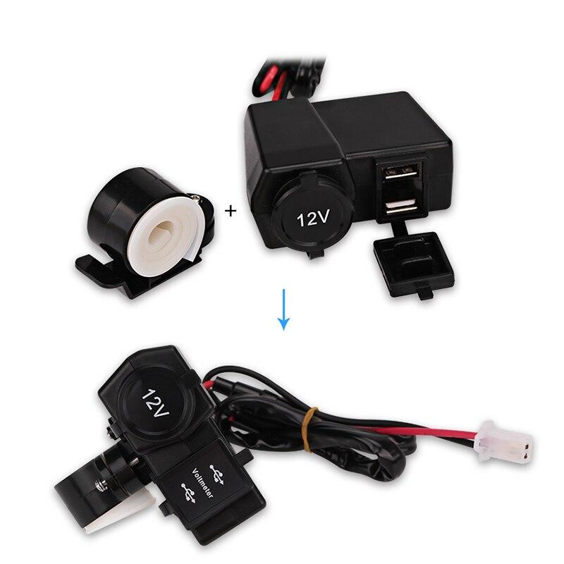 Կրկնակի USB Մոտոցիկլ լիցքավորիչ - Ավտոմեքենաների էլեկտրոնիկա - Լուսանկար 6