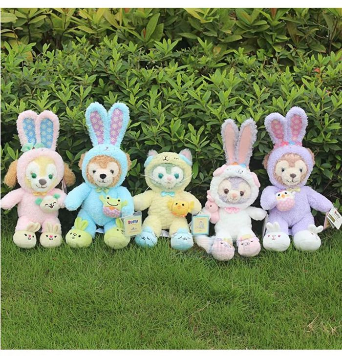 1pc 2019 Easter Duffy Bear Shelliemay Gelatoni Stellalou Plush Toys Cute Bunny Rabbit Cat Soft Stuffed Animal Dolls Gifts image