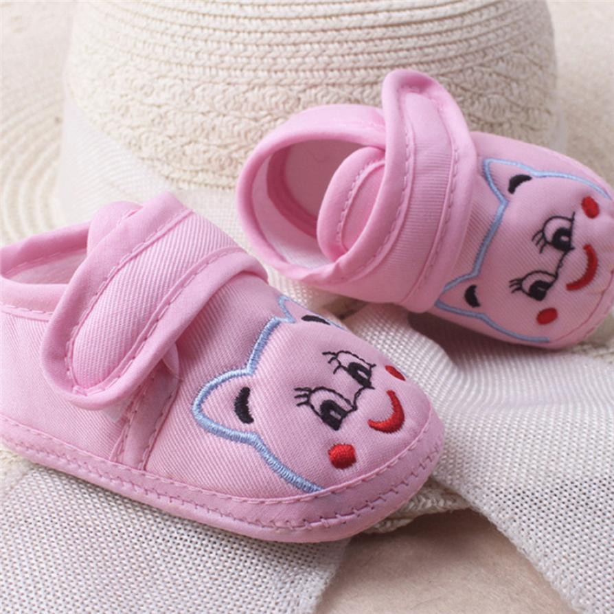 Baby Girl Boy Soft Sole Cartoon Anti-slip Shoes Toddler Shoes 100% brand new and high quality. Pattern type: I Love Papa
