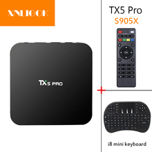 TX5 PRO Android 6.0 Quad-core Smart TV BOX Amlogic S905X 64
