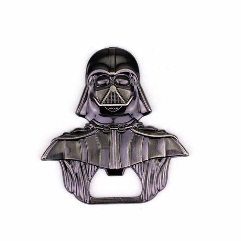 กระเป๋าโลหะ Star Wars Darth Vader Key พวงกุญแจขวด Jar openers ที่เปิดขวดเบียร์สำหรับ BAR