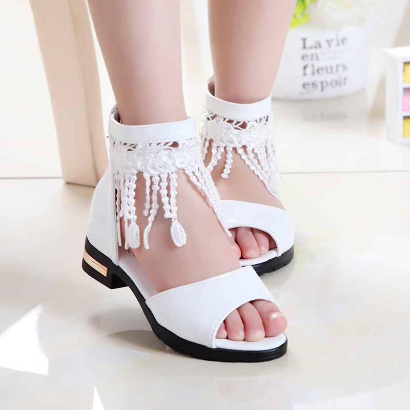 Baby Girls Shoes Kids Single Party Princess Dancing Shoes Children Girl Formal Wedding Shoes 2019 New Summer Girls Sandals