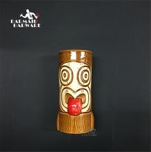 580ml Hawaii Tiki Mugs Cocktail Cup Beer Beverage Mug Wine Mug Ceramic Ku.Ku.Kauioo Tiki Mug enchanted tiki room