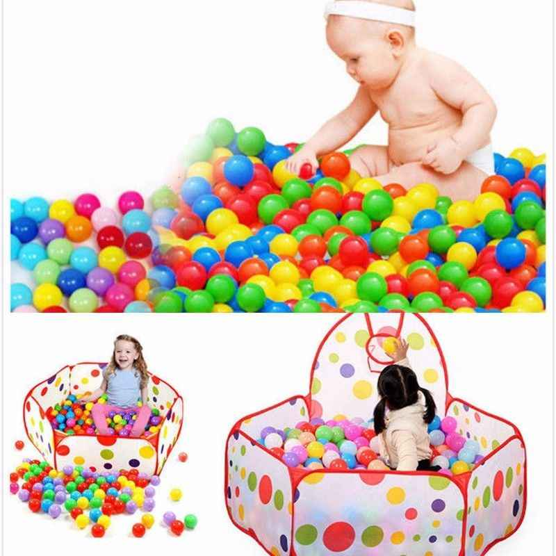 Pudcoco 20Pcs/50Pcs/100PCS Colorful Ball For Baby Kids Soft Plastic Ocean Ball Toys Children Swim Ball Pits Toy