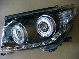 Image 2 - HID, 2008 ~ 2015, 크루저 헤드 라이트, 프라도, LC200, 비오스, RAV4, 캠리, 하이어스, 시에나, 야리스, 타코마, 크루저 헤드 램프 용 자동차 스타일링