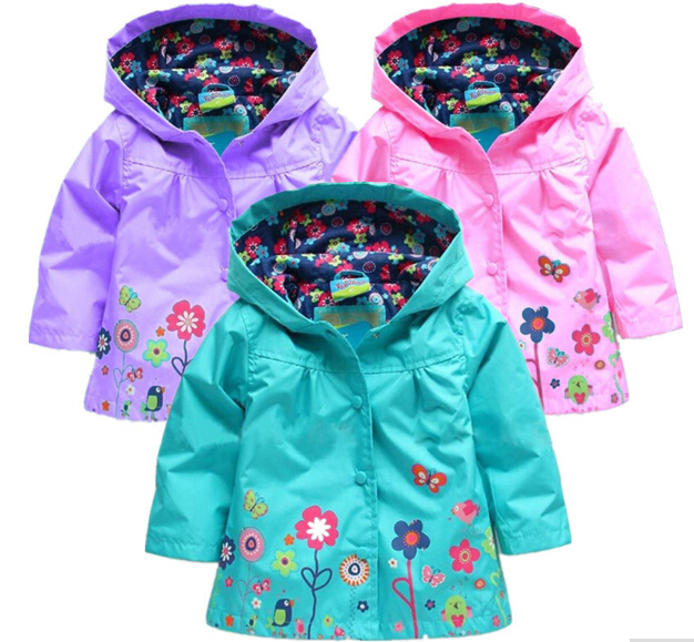 Girls Rain Jackets - JacketIn