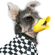 NACOCO Anti Bite Duck Mouth Shape Dog Covers Anti-Called Muzzle Masks Pet Set Bite-Proof Silicone Material
