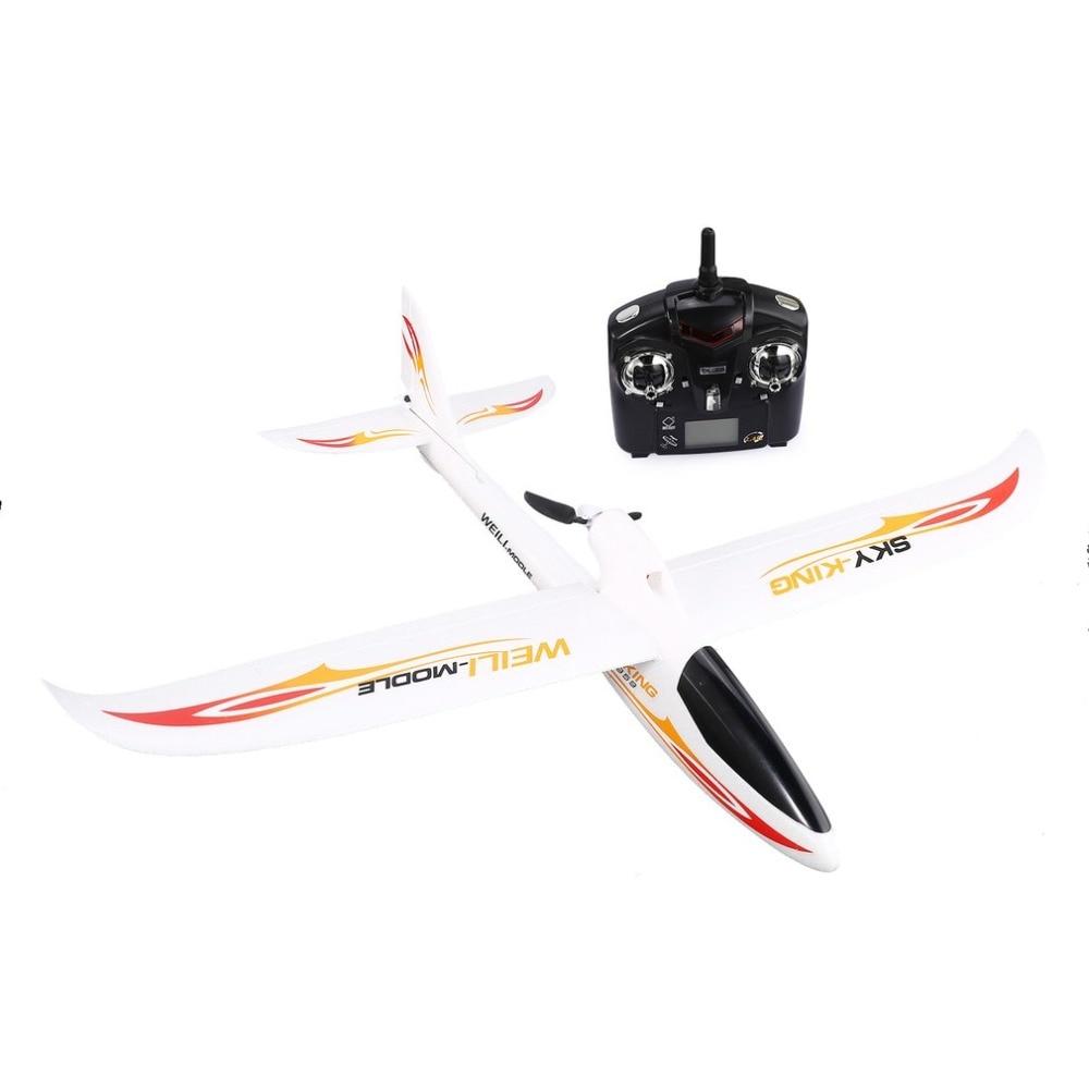 WLtoys F959 RC Avion à Voilure Fixe 2.4G Radio Contrôle 3 Canal RTF CIEL-Roi Avions avec Pliable Hélice enfants RC drône jouet