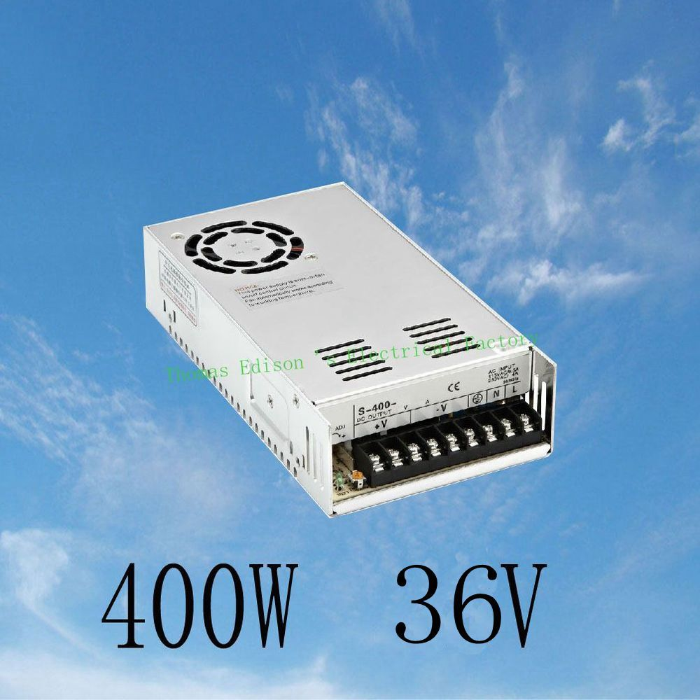 DMWD 400W 36V 11A Single Output Switching power supply for CCTV camera LED Strip light AC to DC SMPS dmwd switching power supply 40a power