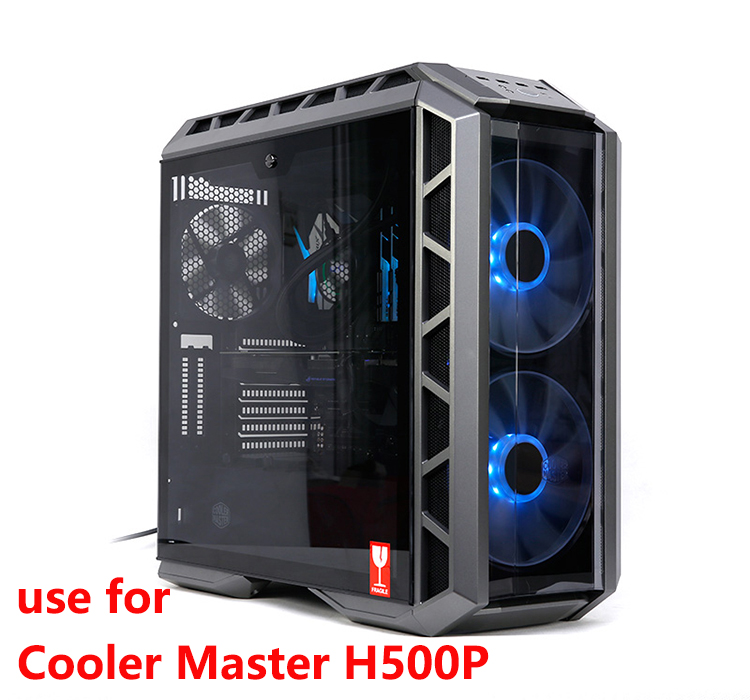 Купить с кэшбэком Barrow Acrylic Board Water Channel Solution kit use for Cooler Master H500P Case / Kit for CPU and GPU Block / Instead reservoir