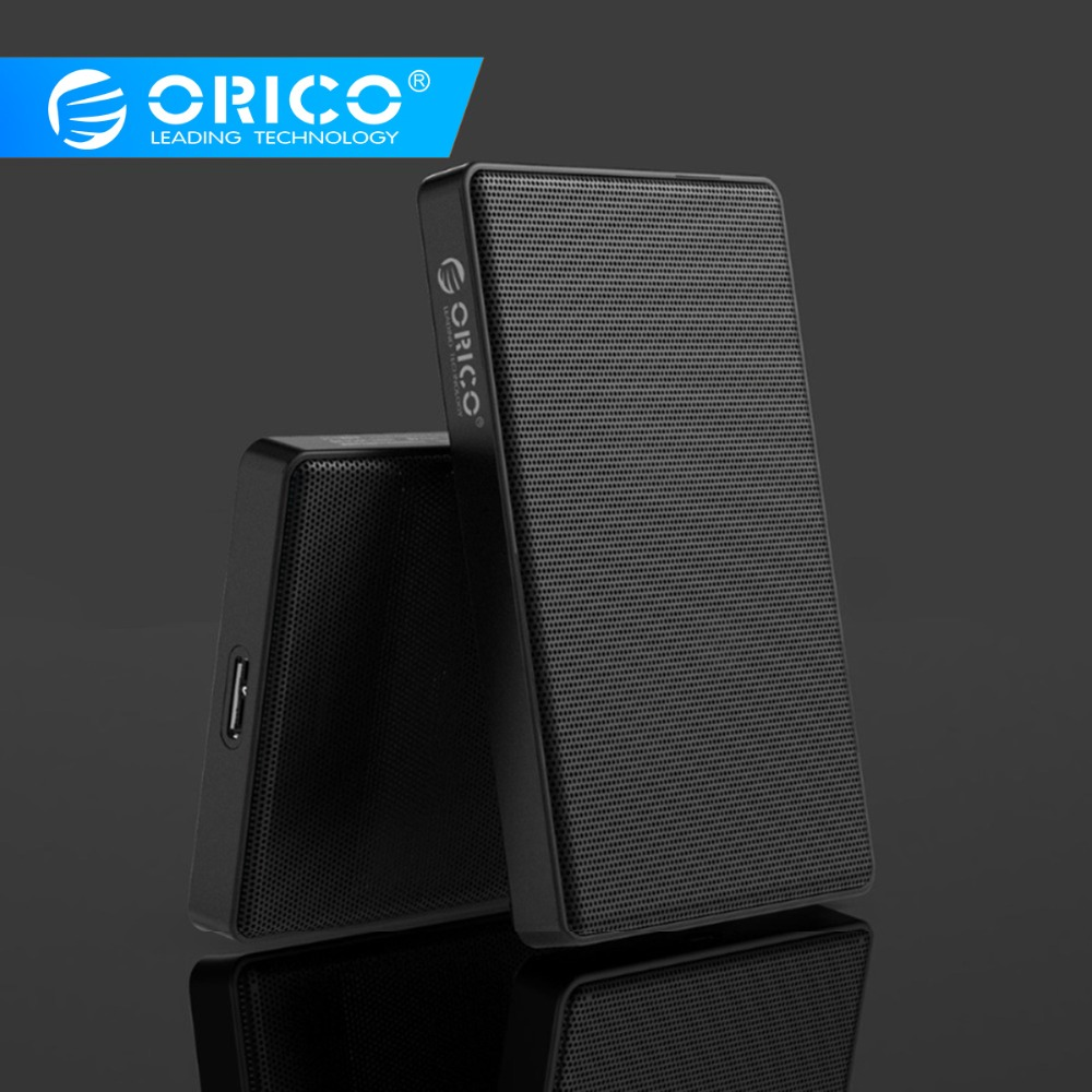 ORICO 2.5 Inch HDD Case SATA To Usb 3.0 Full Mesh HDD Enclosure For Samsung Seagate Hard Disk Drive Box External HDD SSD Adapter