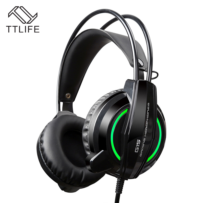 TTLIFE Game Headphones S1 Heavy Bass Headset Black Big Gaming HIFI Headphone With Mic for Computer PS4 Internet Bar mitsubishi heavy industries srk35zm s src35zm s