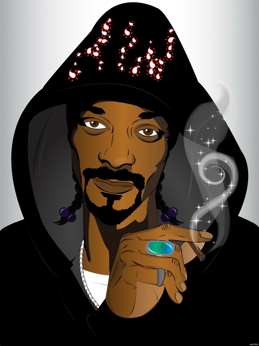 thestudentphysicaltherapis anime snoop dogg - HD1000×1333