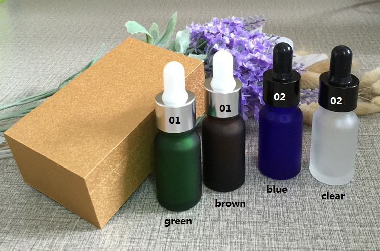 4pcs 10ml high-grade frosted glass bottle empty dropper bottle With wooden box,essential oil bottle,perfume subpackage jar brown 50pcs lot high grade 30ml essential oil empty bottles with natural bamboo glass tank all bamboo dropper bottle essence liquid