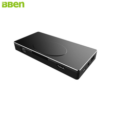 BBen MN17A Mini PC de Windows 10 Intel Celeron Apollo N3450 Quad Core 4 GB de RAM HDMI TypeC LAN Negocio Móvil Stick Mini PC equipo