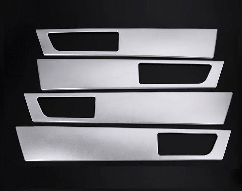 For Land Rover Discovery 4 Car Inside Door Handle Frame Cover Trim Sticker 2010 2011 2012 2013 2014 2015 2016 Car Accessories 6pcs car inner door handle button bowl decorative cover trim styling sticker fit for cayenne 2011 2016 car decal accessary