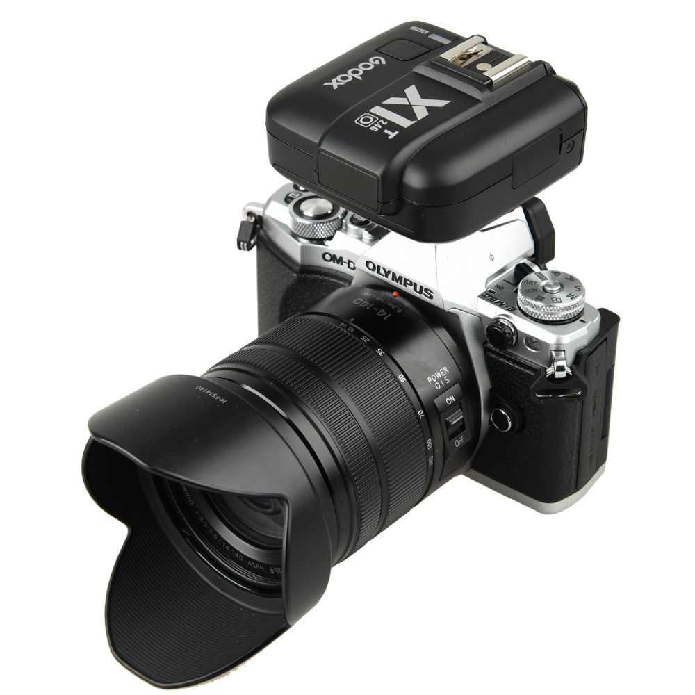 Godox 2,4G E-TTL беспроводной ЖК-передатчик вспышки X1T-C/N/S/O/F для Canon EOS/Nikon DSLR/sony/Olympus Panasonic/Fujifilm камера